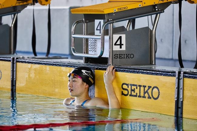 酒井夏海選手(競泳)とサポート契約を締結~セイコーは、女子背泳ぎのホープ 酒井選手を応援します~