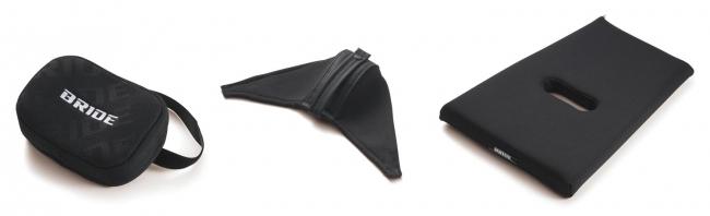 BRIDEの自動車シートをより快適にするオプションのパッド類を3種同時に4月20日受注開始!