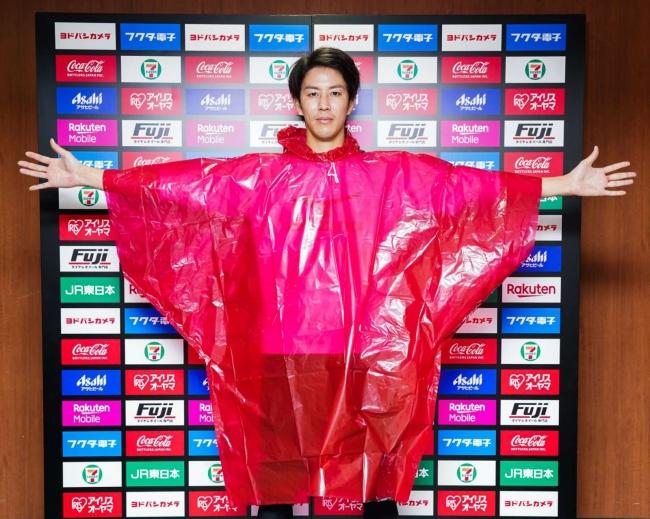 【楽天イーグルス】ポンチョを宮城県へ3,000枚寄贈
