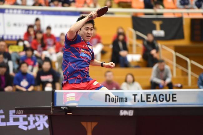 卓球のTリーグ 「ノジマTリーグ 2019-2020シーズン後期 ノジマMVP賞」を男子・神 巧也(T.T彩たま)、女子・森 さくら(日本生命)が受賞