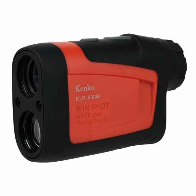 「高低差をふまえた打つべき距離の目安」も表示するゴルフ用レーザー距離計、高低差対応モデル「ケンコー レーザーレンジファインダー Winshot KLR-600M」