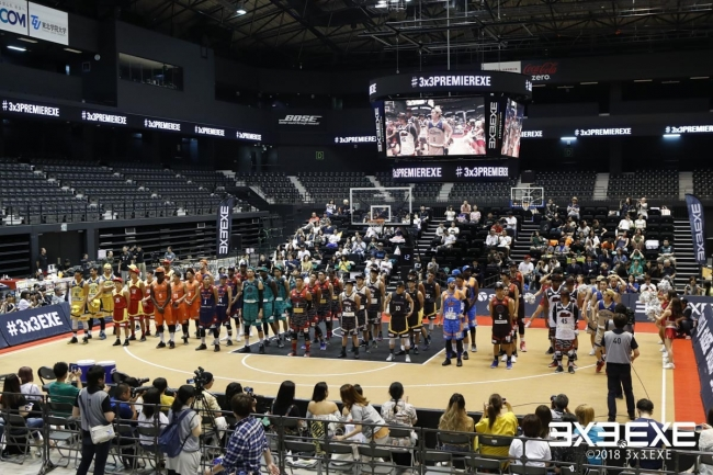 3x3.EXE PREMIER 2020 CUP 開催イメージ
