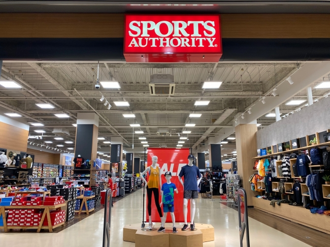 SPORTSAUTHORITY店頭