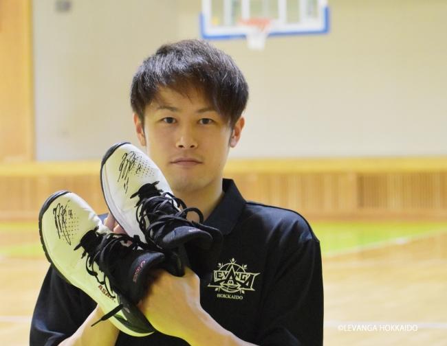 レバンガ北海道 #8 多嶋朝飛選手が『新型コロナウイルス感染拡大により大会中止となったこどもたちのためのオークション』を開催