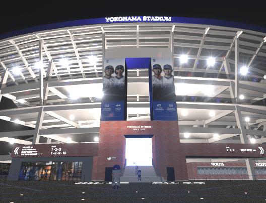 「バーチャルハマスタ」、約3万人がバーチャル空間を通じた野球観戦に熱狂!