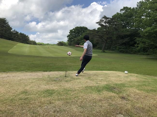 那須国際カントリークラブにワールドカップ開催で注目の新スポーツ「フットゴルフ」本格コースをオープン!