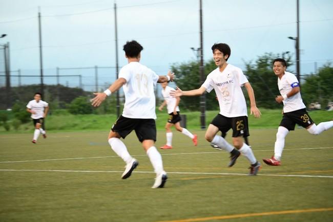 2020年度から加盟した神奈川県社会人サッカーリーグ3部の開幕戦(9月19日)に3-1で勝利を収めた江の島FC