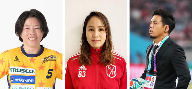 【大阪ラヴィッツ】外国語を武器にスポーツ現場をめざす学生に対し、選手が海外経験を伝える授業をおこないます。