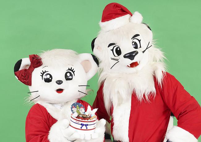 今年のトレンドはおうちでクリスマス!レオとライナがご自宅にオリジナルケーキをお届け!11月6日(金)より「ライオンズオリジナルクリスマスケーキ」「ライオンズクリスマスグッズ」受注販売開始!