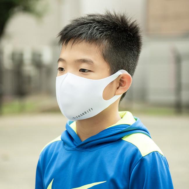 小学生ママのお悩みから小さい子供向けのマスクを開発