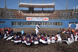 元ソフトバンクのプロ野球選手OBらが鹿児島で熱血指導!