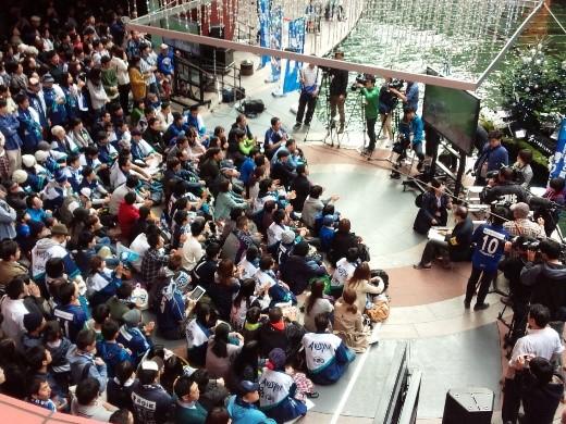 【サッカーJ2アビスパ福岡】DAZN Presents パブリックビューイングinキャナルシティ博多