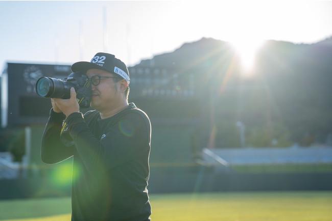 小中村政一氏が「アスリートNo.1プロジェクト」公認カメラマンに就任