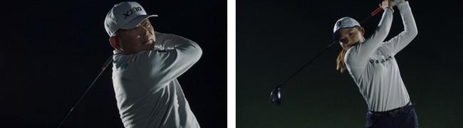 プロゴルファー 中嶋常幸プロ・古江彩佳プロ出演のコンディショニングアクセサリー「コアフォース」の新CMが 本日4/8(木)から開催されるマスターズの中継より放映開始!