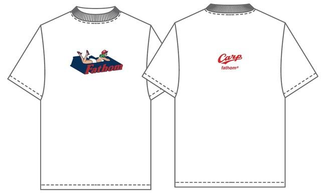 【本館6F ファゾム】 Tシャツ(ロゴ/白・黒・赤)7,480円
