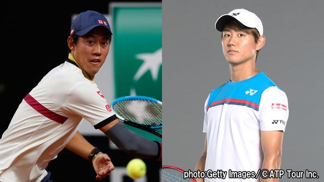 錦織圭、西岡良仁が2回戦に挑む!ATPマスターズ1000マドリード大会本戦第4日を生中継!