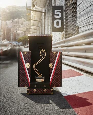 ルイ・ヴィトン、フォーミュラ1モナコグランプリ史上初となるトロフィー・トラベルケースを製作
