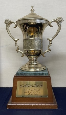 アジアクラブ選手権優勝トロフィー(1986-87年)