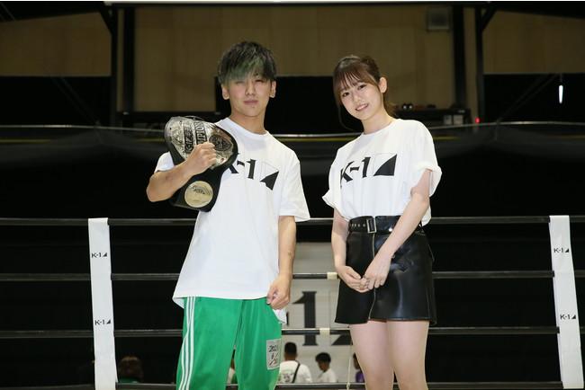 野田蒼&川口葵さん