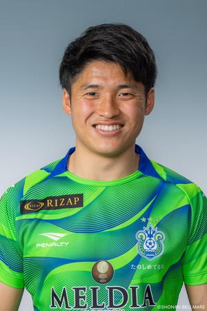 平松昇選手 湘南ベルマーレより育成型期限付き移籍加入のお知らせ