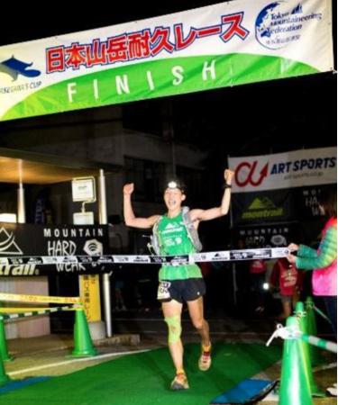 '14年「日本山岳耐久レース」の大会記録は今も破られていない。