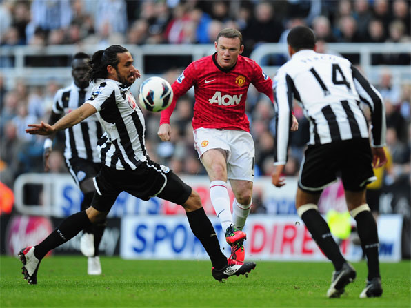 man u vs newcastle