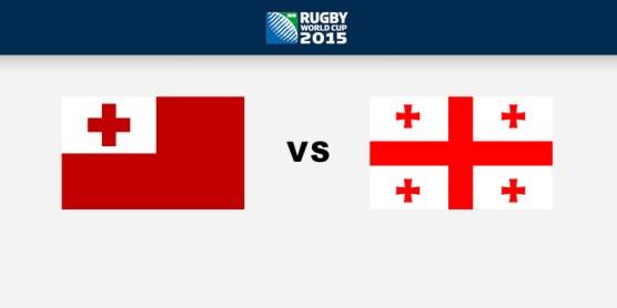 Georgia Vs Tonga Rugby world cup 2015