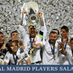 All Real Madrid footballers latest deals & per week salary 2017-18