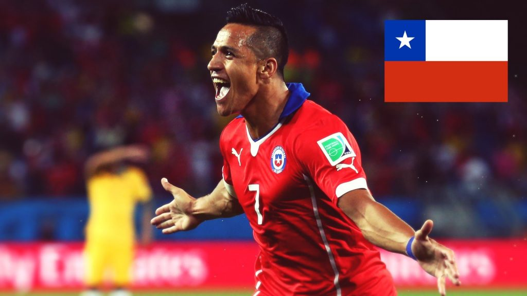 Alexis Sanchez a superstar of Chile