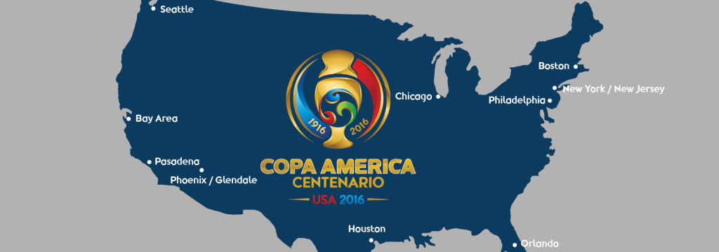 All Venue Maps of Copa America Centenario 2016