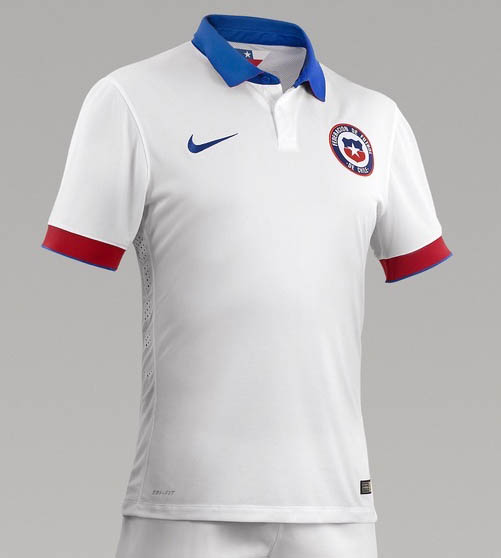 Chile Away Kit for Copa America 2016.