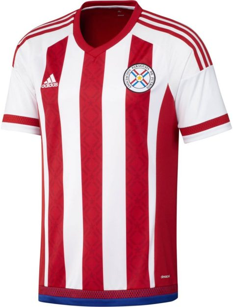 Paraguay Home Kit for Copa America 2016