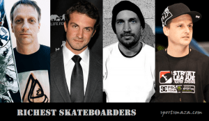 Top 10 Most Richest Skateboarders & Their Net Worth (2017)