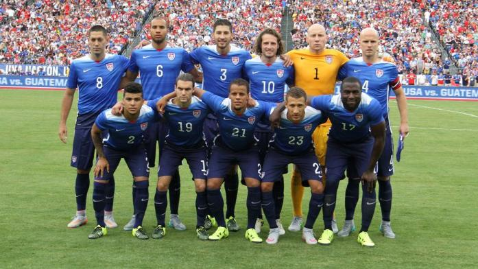 USA team squad