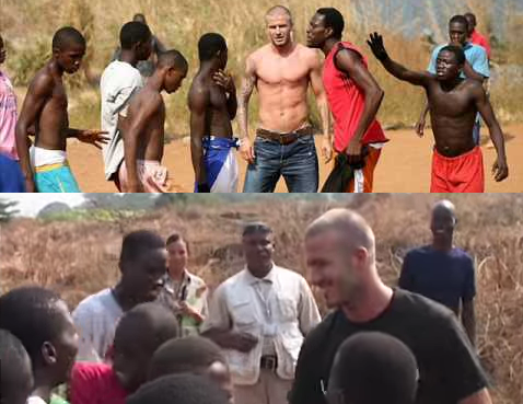 Beckham surprise in Sierra Lione