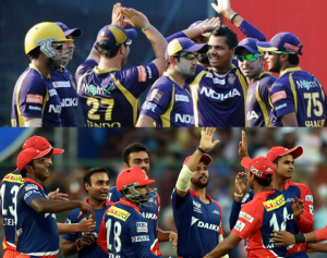2nd Match of VIVO IPL – Kolkata Knight Riders Vs Delhi Daredevils Highlights 2016