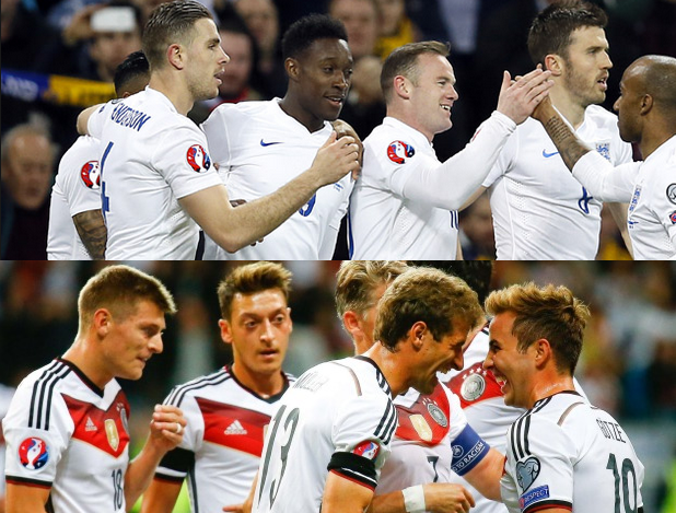 England - Germany