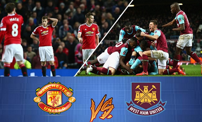 Man U Vs West Ham