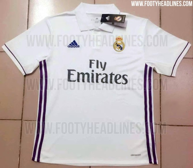 Real Madrid home kit16-17