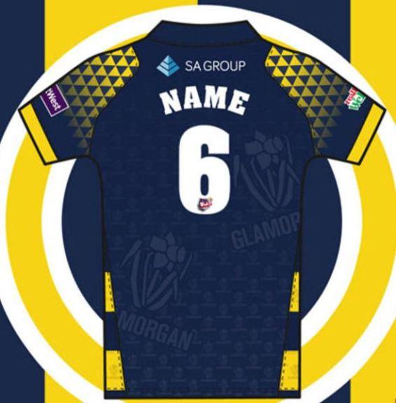 Glamorgan jersey