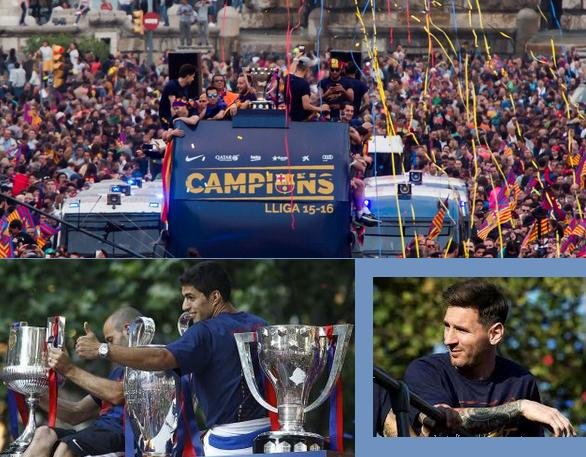 FCB La Liga title winning