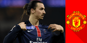 PSG icon Ibrahimovic singing in Manchester United [£250,000/week contract]