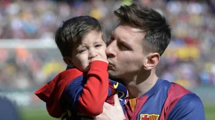 Kid of Lionel Messi 4
