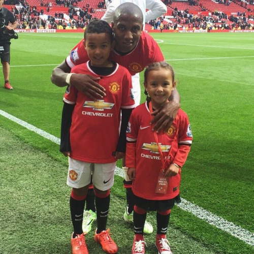 Kids of Ashley Young 1