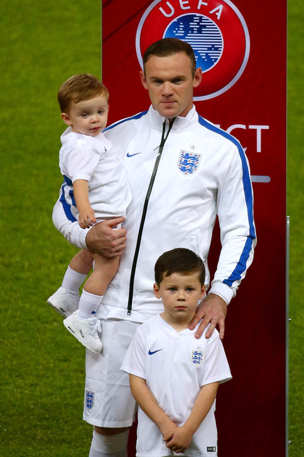 Kids of Wayne Rooney 1
