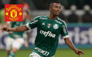 Manchester United emerged a €38 million bid for Brazilian striker Gabriel Jesus