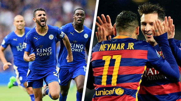 Barcelona Vs Leicester city