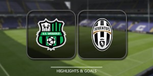 Full Video Sassuolo Vs Juventus Match: Finishing score & early prediction
