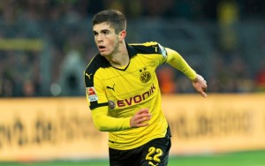 Liverpool are in battle with Paris SG for Dortmund star Christian Pulisic