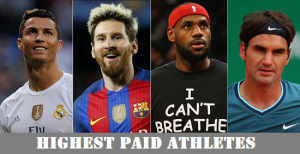 Top 50 Highest paid Athletes 2017 [List basis salary & sponsor deal]